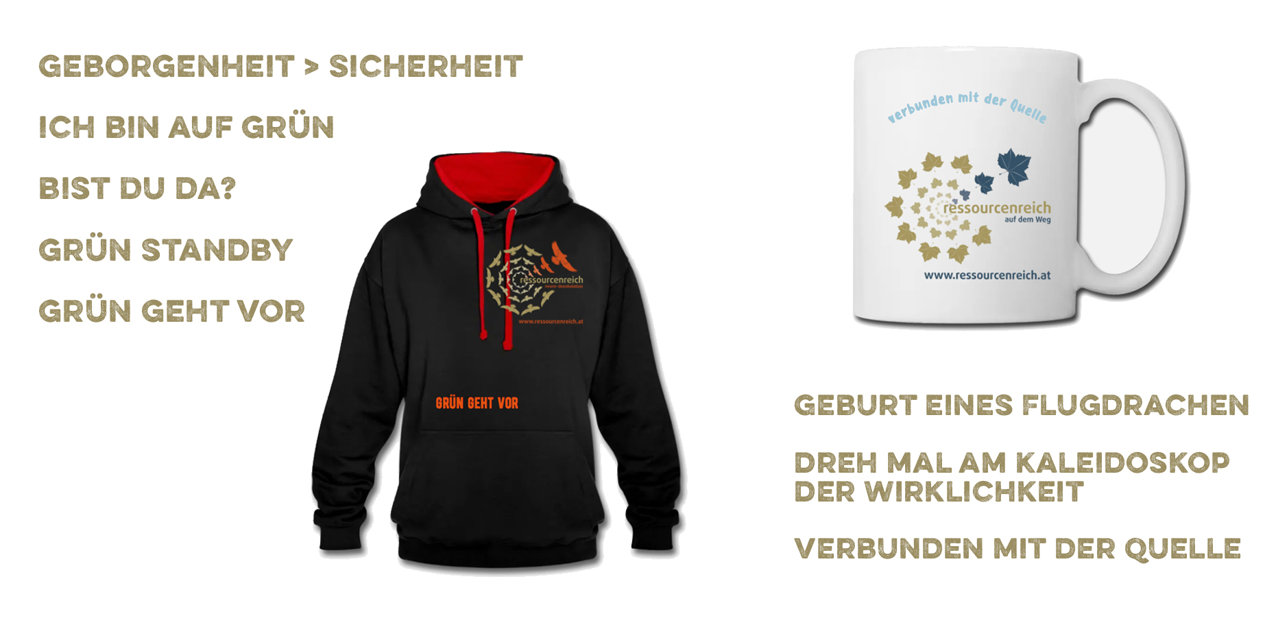 ressourcenreich Spreadshirt Shop Merchandise